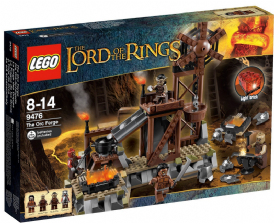 9476 Lego The Lord of the Rings: The Orc Forge
