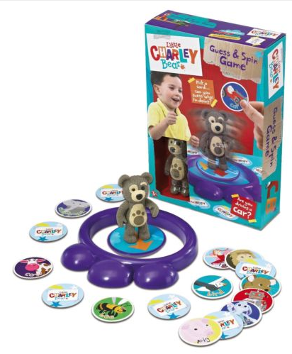 Little Charley Bear Guess And Spin Game